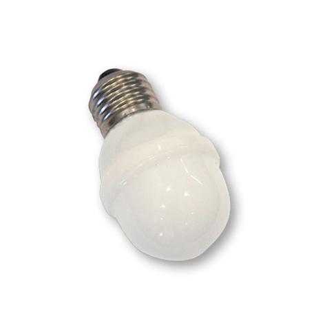 E27 lampadina Golfball 1W 5,5 VA