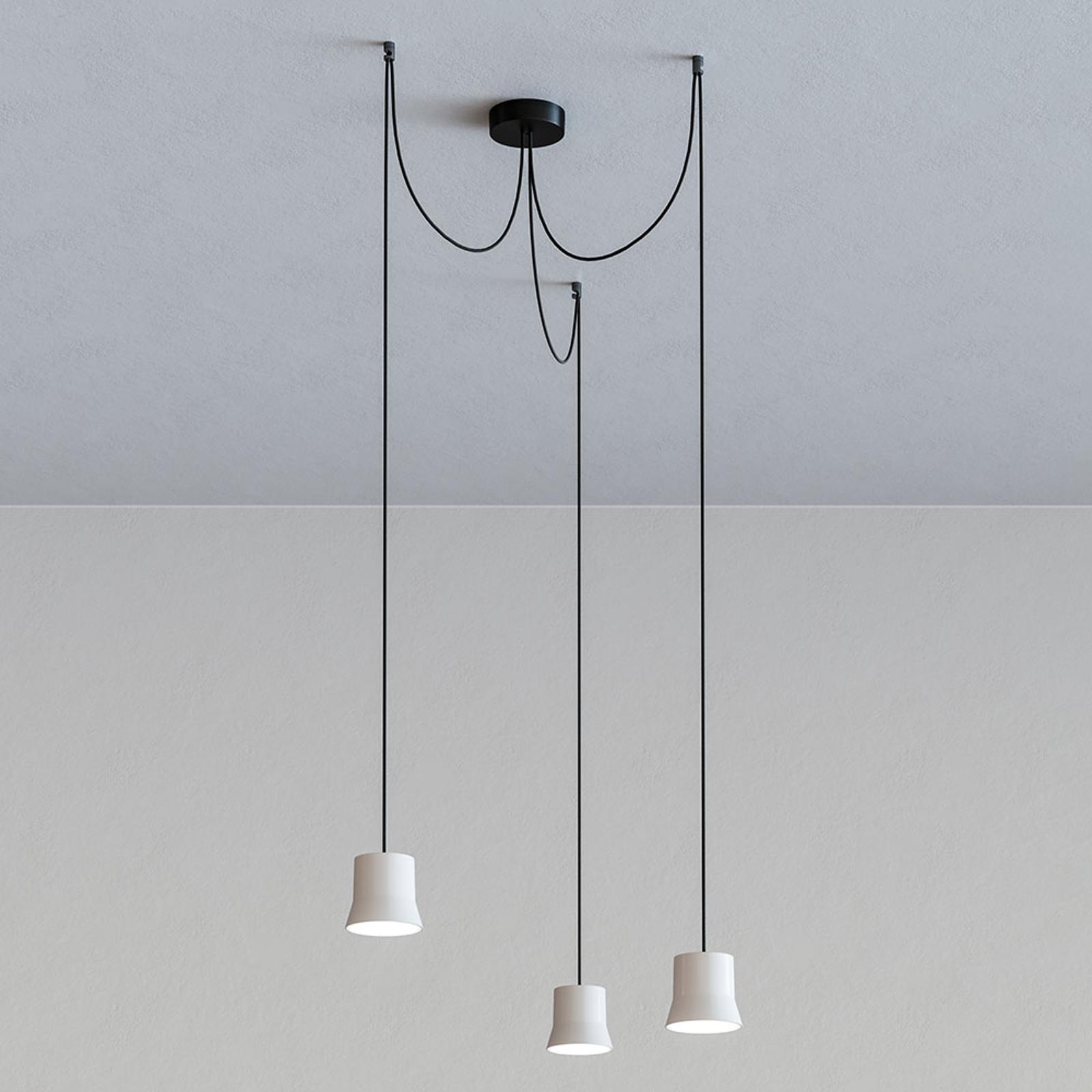 Artemide GIO.light Cluster hængelampe, hvid