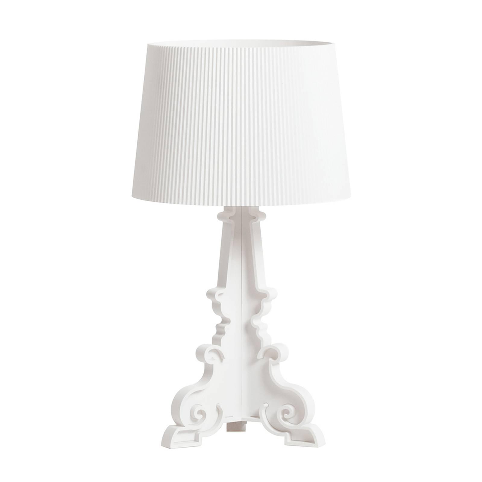 Kartell Kartell Bourgie Mat LED stolní lampa E14 bílá