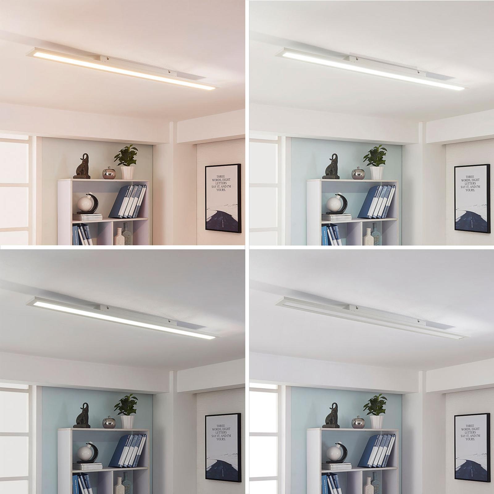 LED-Panel Arya mit Fernbedienung, dimmbar