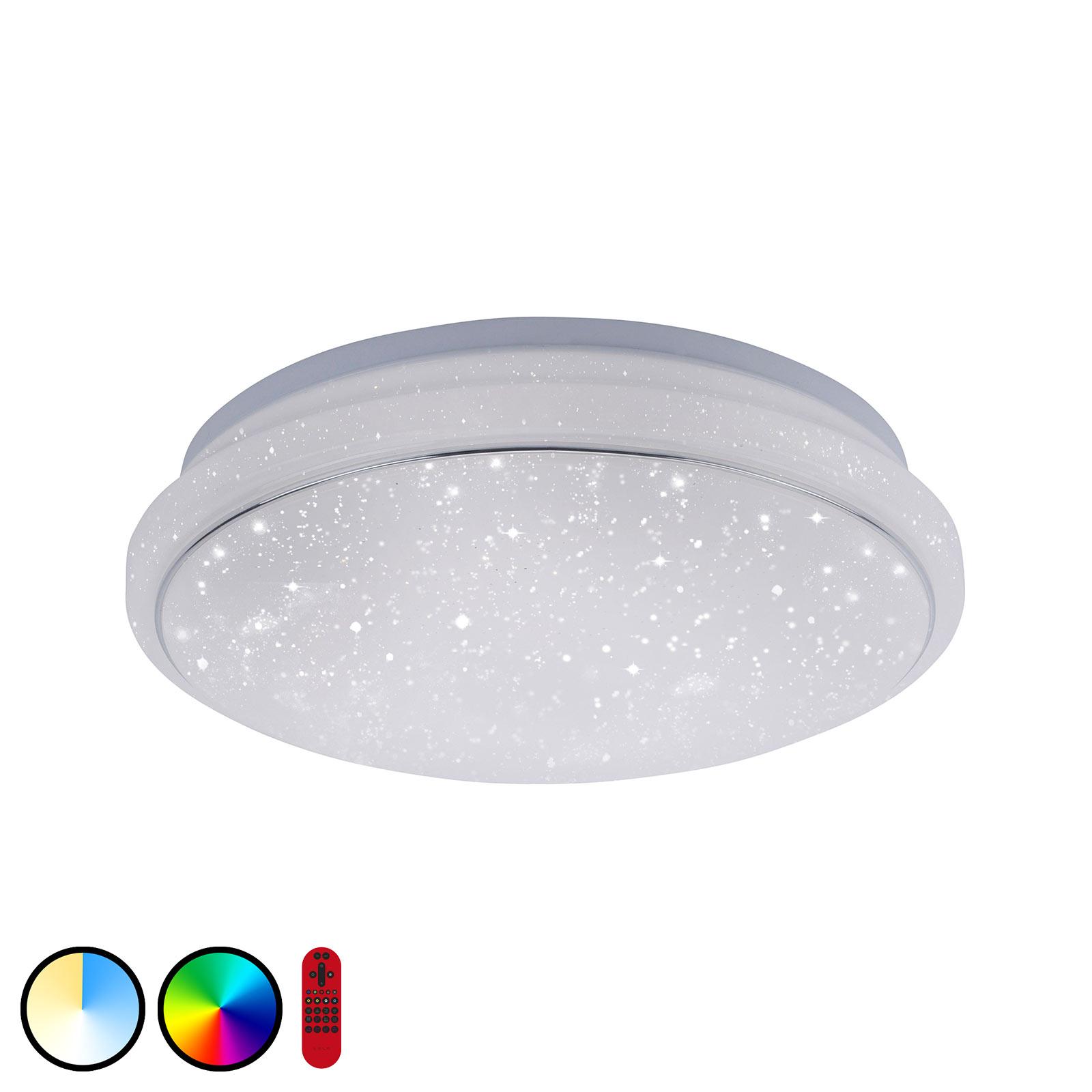 Lampa sufitowa LED LOLAsmart Jupi, Ø 35 cm