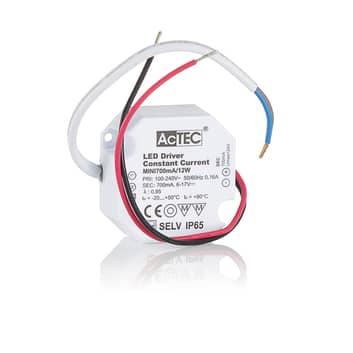 AcTEC Mini LED ovladač CC 700mA, 12W, IP65