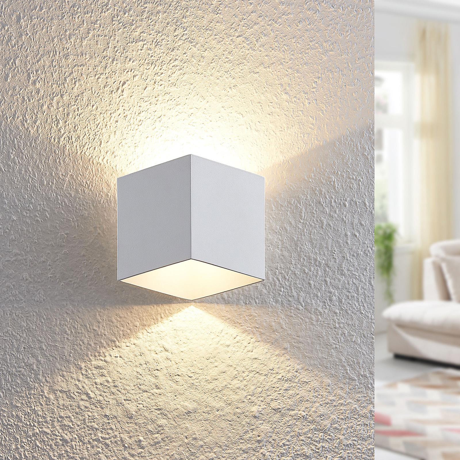 Arcchio Alima LED wandlamp, dimbaar, IP44, wit