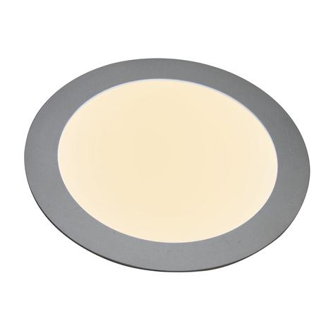 Panneau encastré LED 27636, plat, rond, 12W