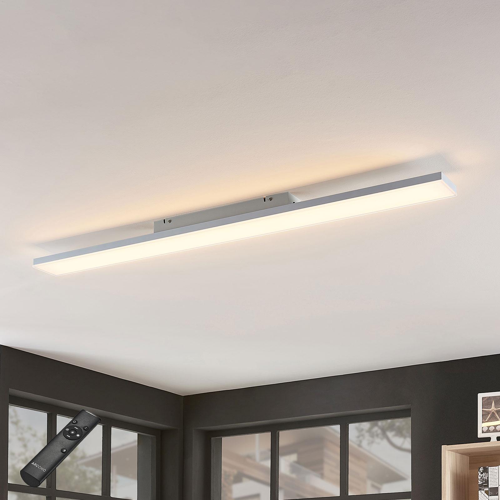 LED-Panel Blaan CCT Fernbedienung 119,5 x 10 cm