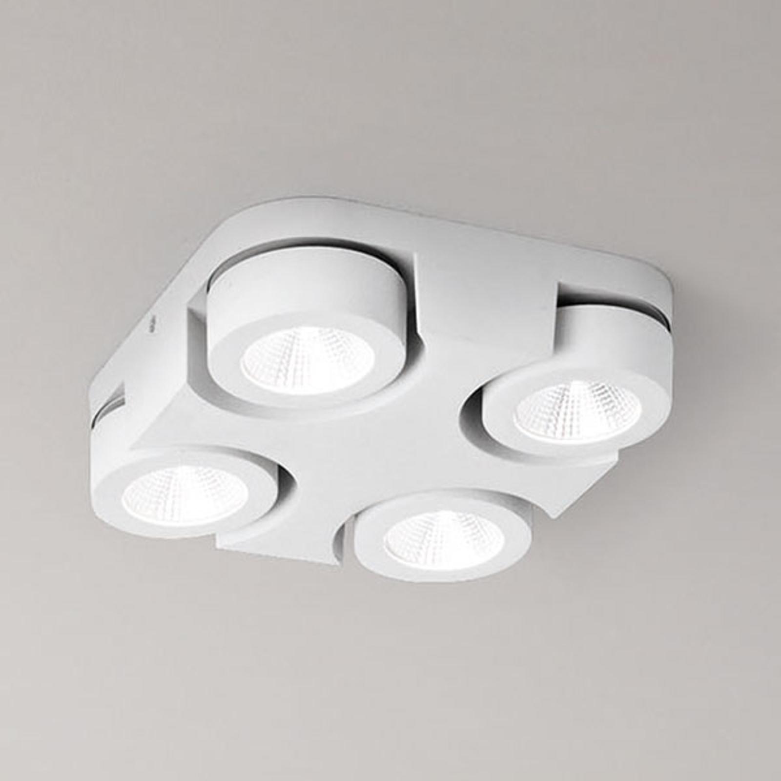 Quadratische LED-Deckenleuchte Hella