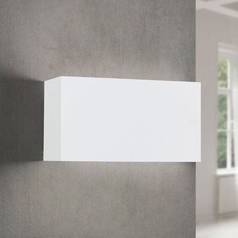 Aplique LED Hamilton, blanco