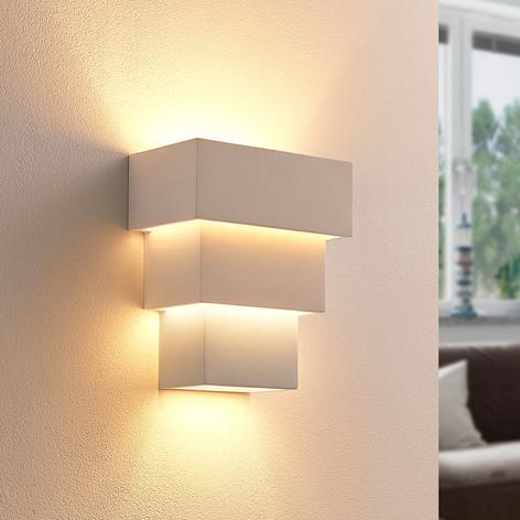 Antonella - effektfull LED-vägglampa av gips
