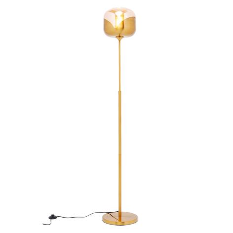 KARE Golden Goblet Ball lampada da pavimento oro