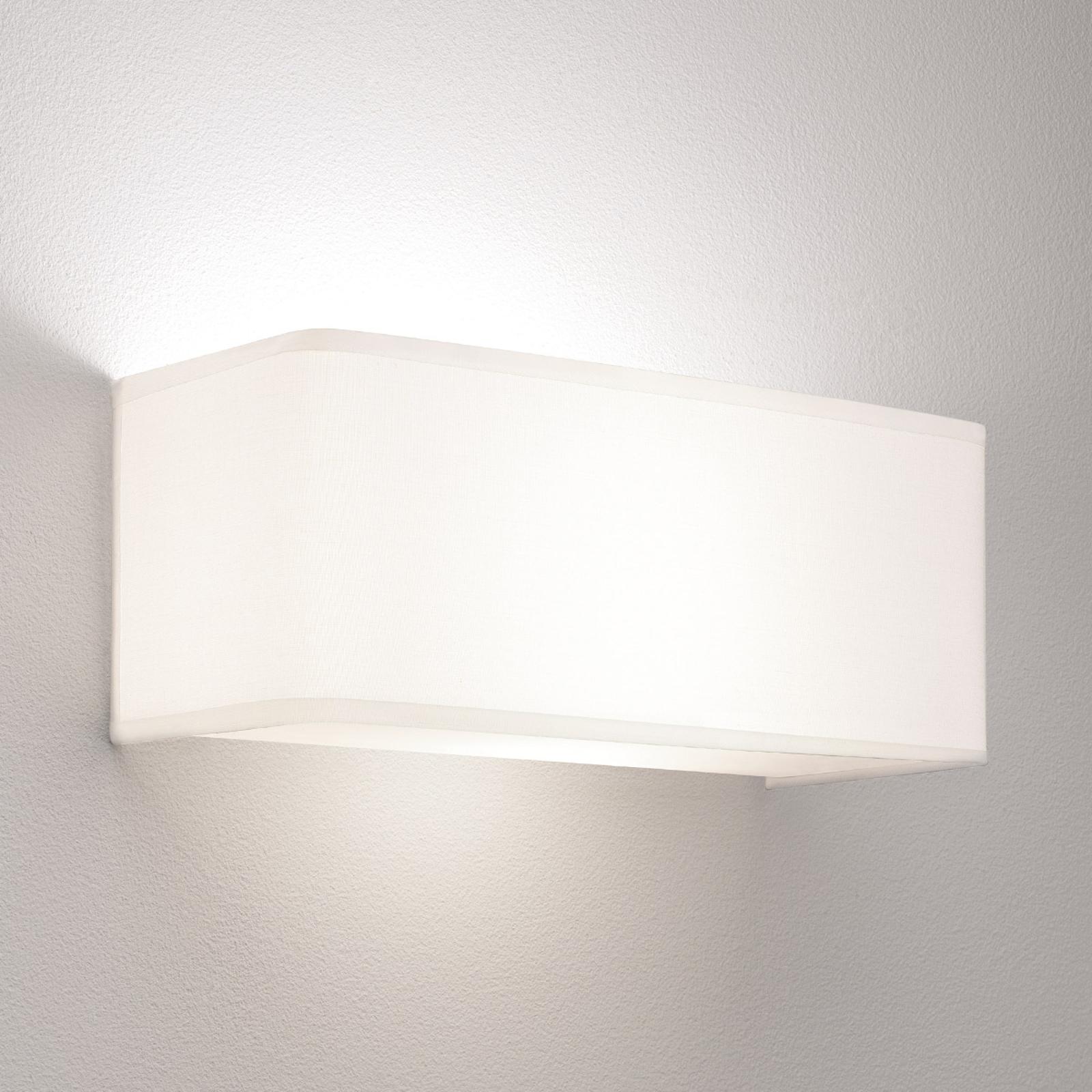 Astro Ashino Wide – nástěnné světlo, bílá, 30 cm