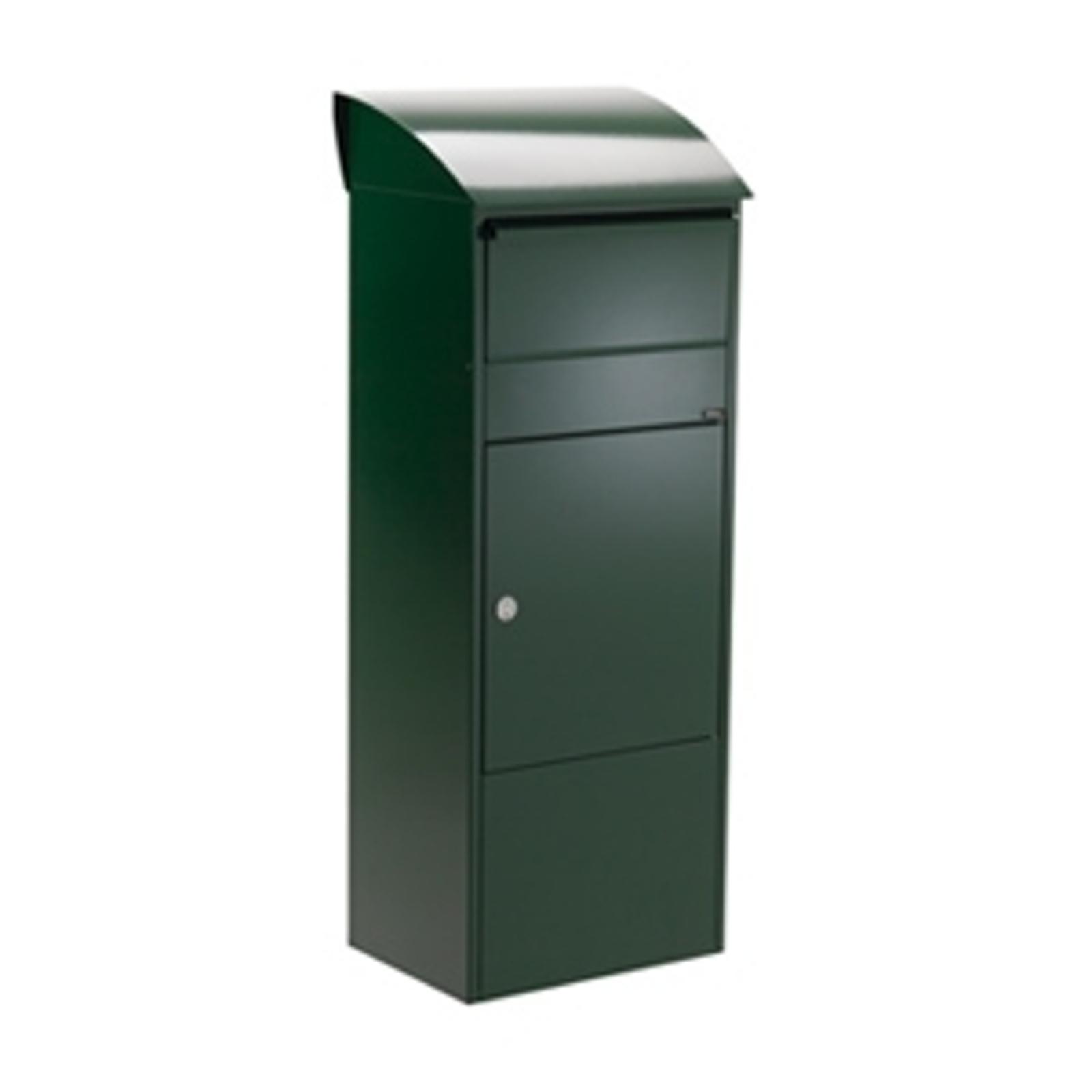 Velká poštovní a balíková schránka 820, zelená
