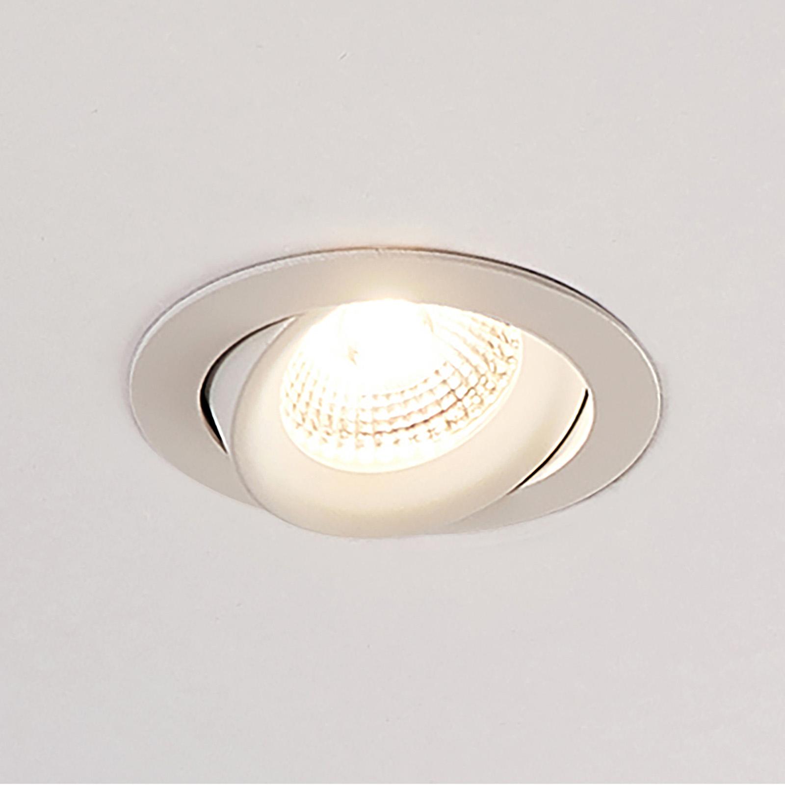 Arcchio Ozias reflektor wpuszczany LED biały 7,7W
