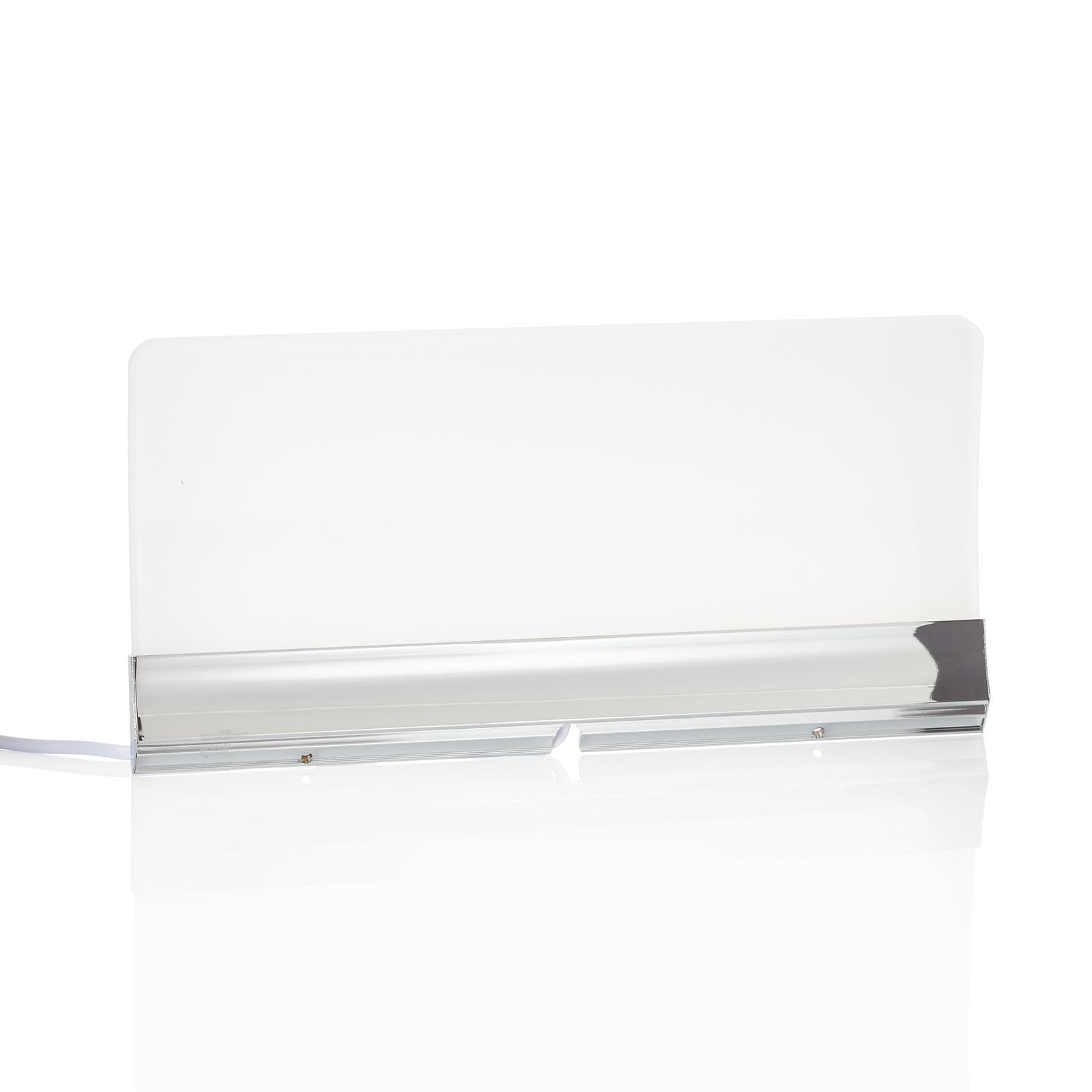 Plošné LED svítidlo nad zrcadlo Angela IP44, 30 cm