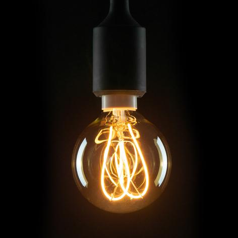 Globo LED E14 4W 922 G80 líneas curvas