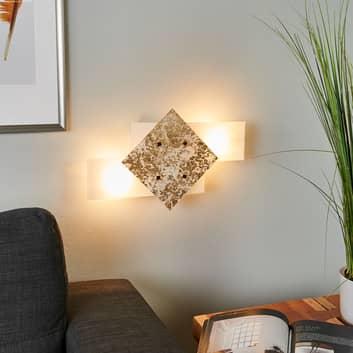 Bandiera vegglampe 46 cm med bladgullsdekor