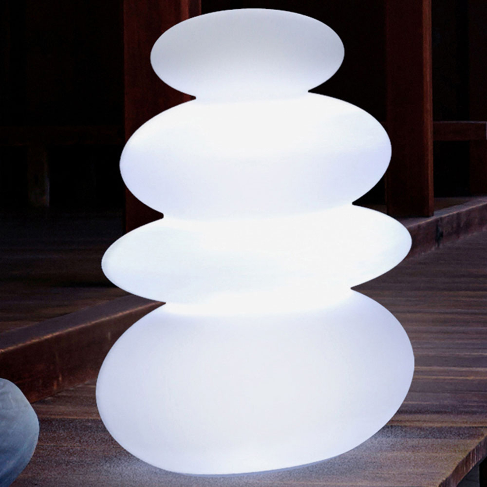 Newgarden Balans LED-solcelle-gulvlampe m. batteri