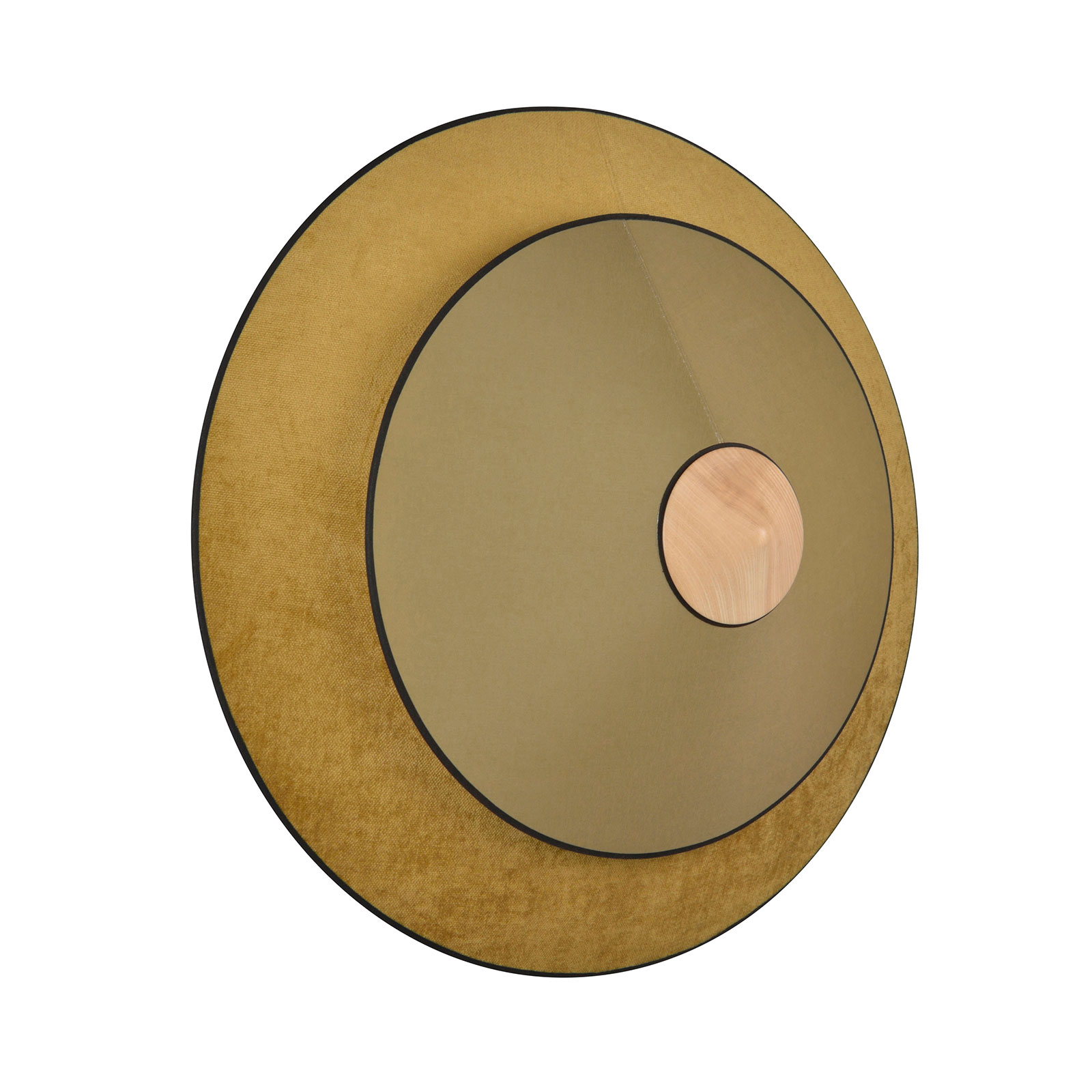 Forestier Cymbal S applique LED, bronzo