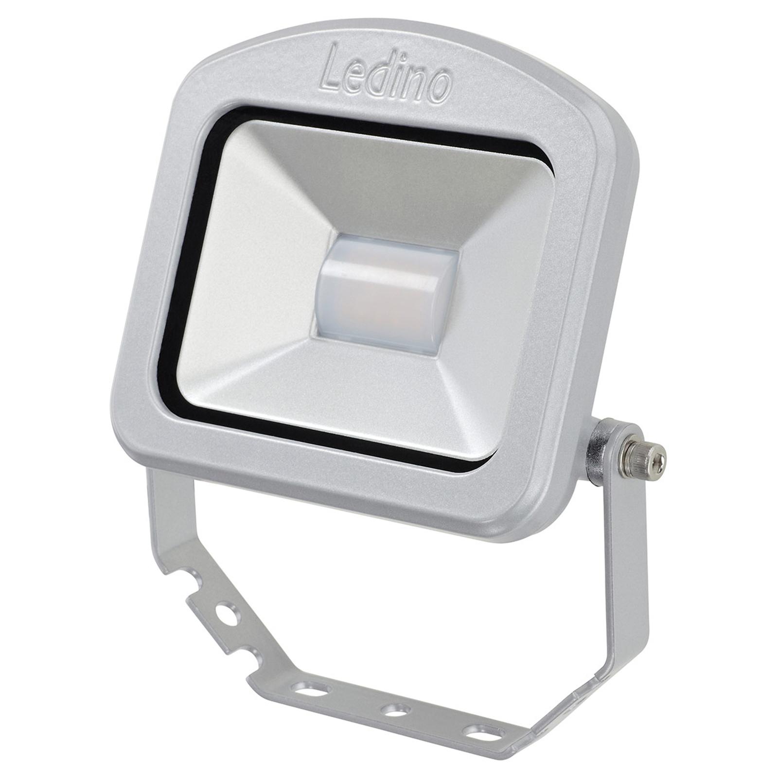 Spot LED esterni Charlottenburg argento 10W 4.000K