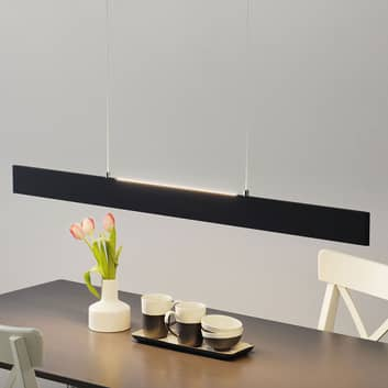 LED-Pendellampe Sileas dimmbar mit Fernbedienung