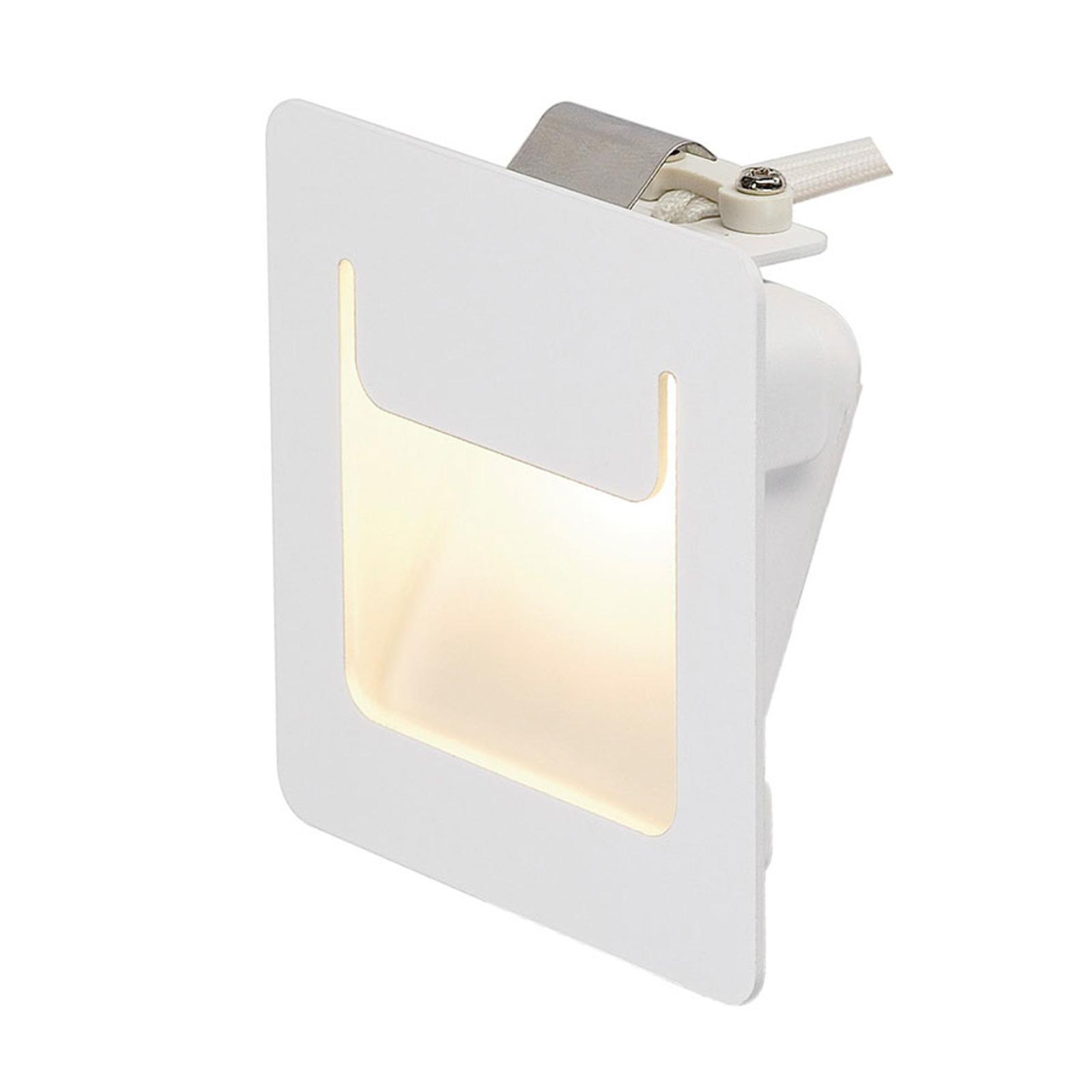 SLV lampe enc. LED Downunder Pur 80 LED blanche