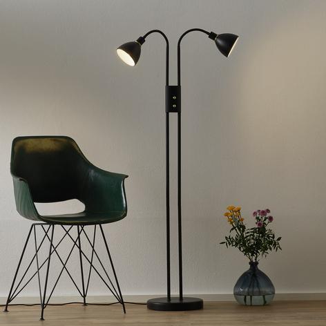 Vypínatelná stojatá lampa Ray - se stmívačem