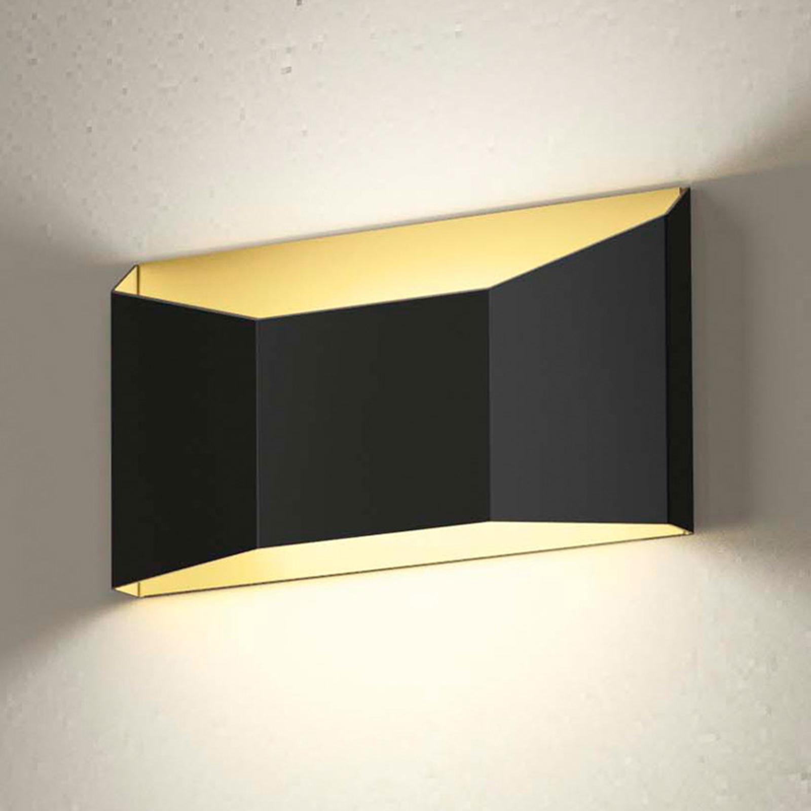 Zweifarbige LED-Wandleuchte Esa in flacher Form