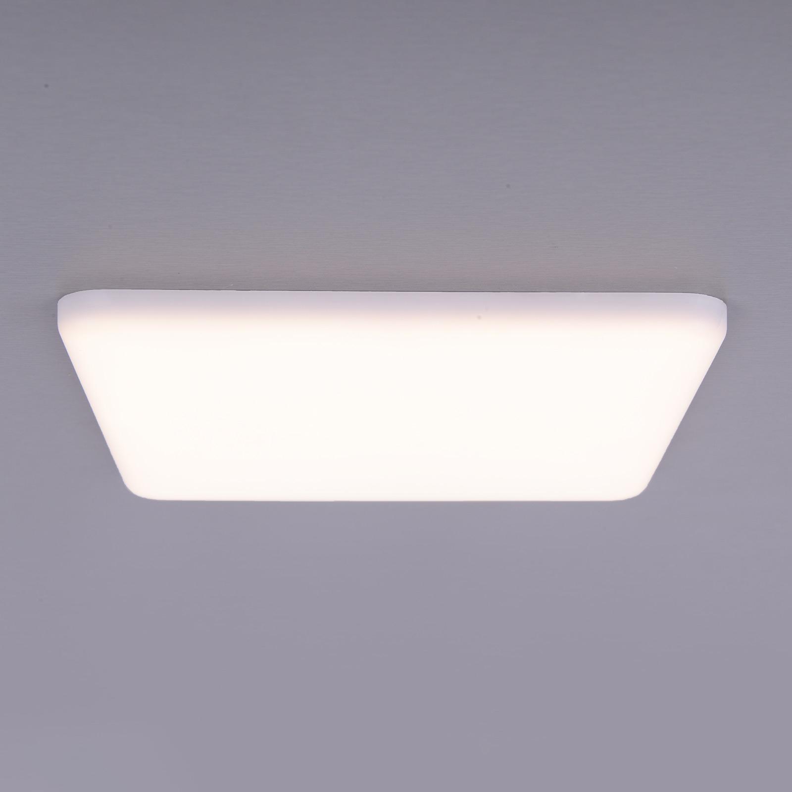 LED-Einbauleuchte Sula, quadratisch, IP66, 21,5 cm