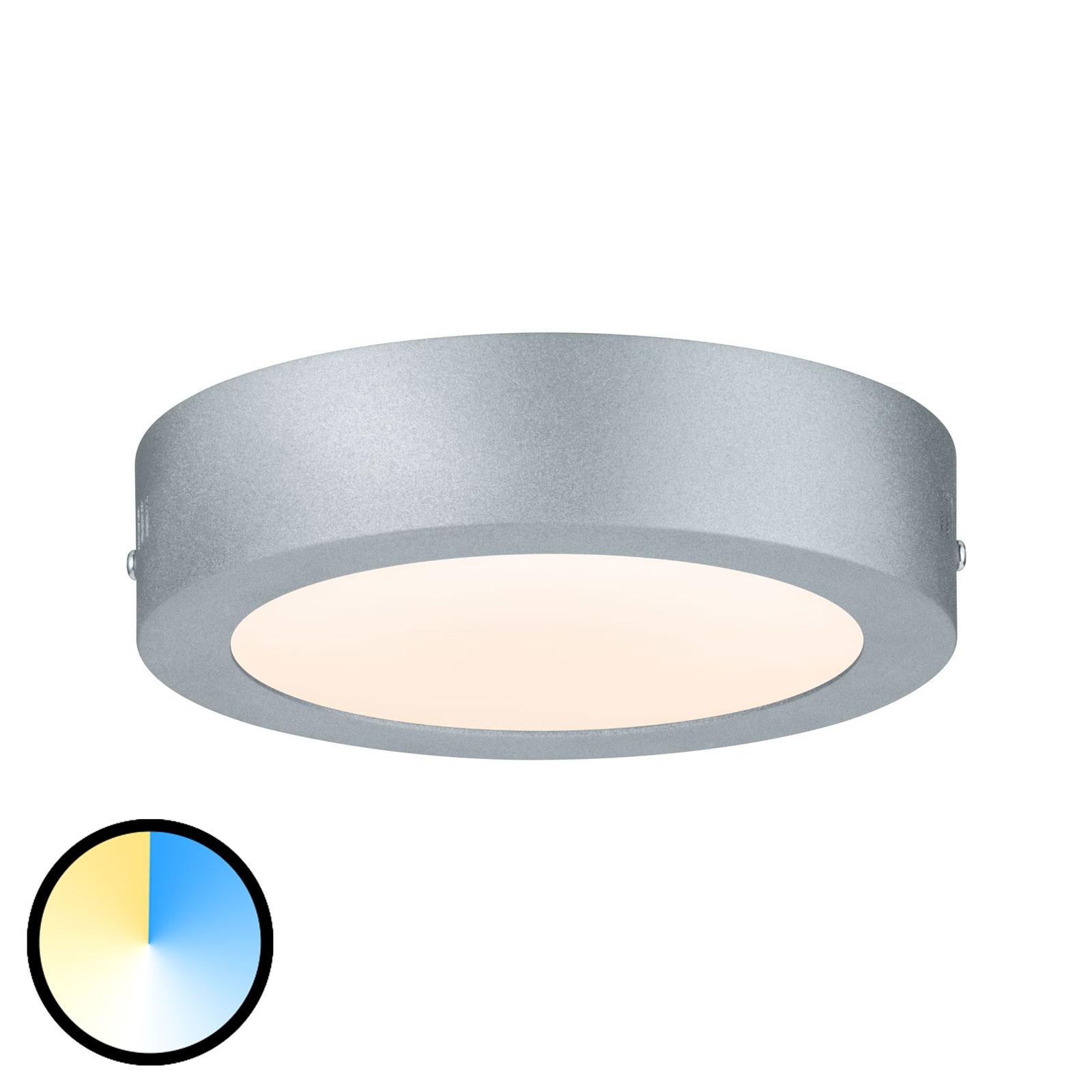 Paulmann Carpo LED-taklampe rund krom 17 cm