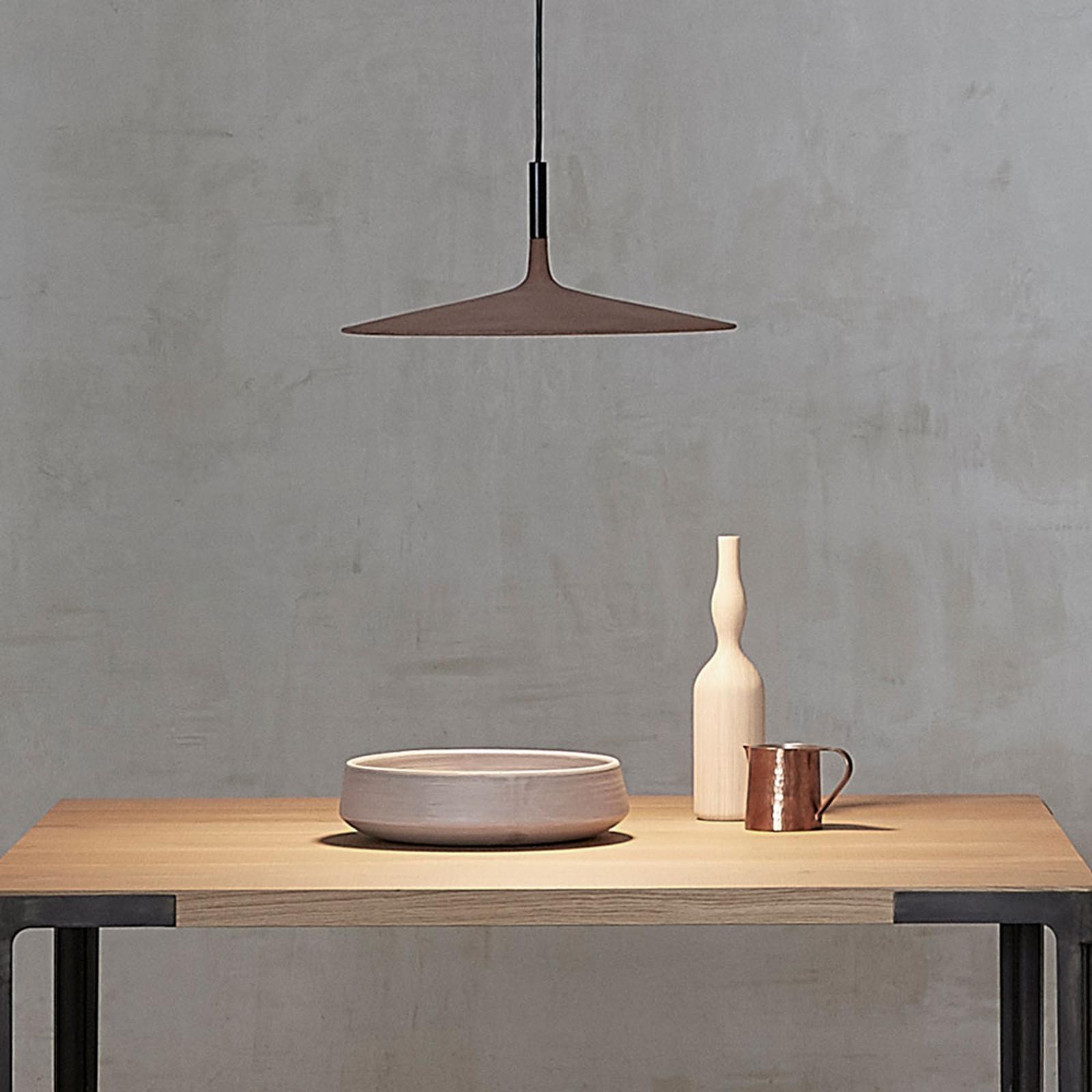Foscarini Aplomb Large LED-hengelampe, grå