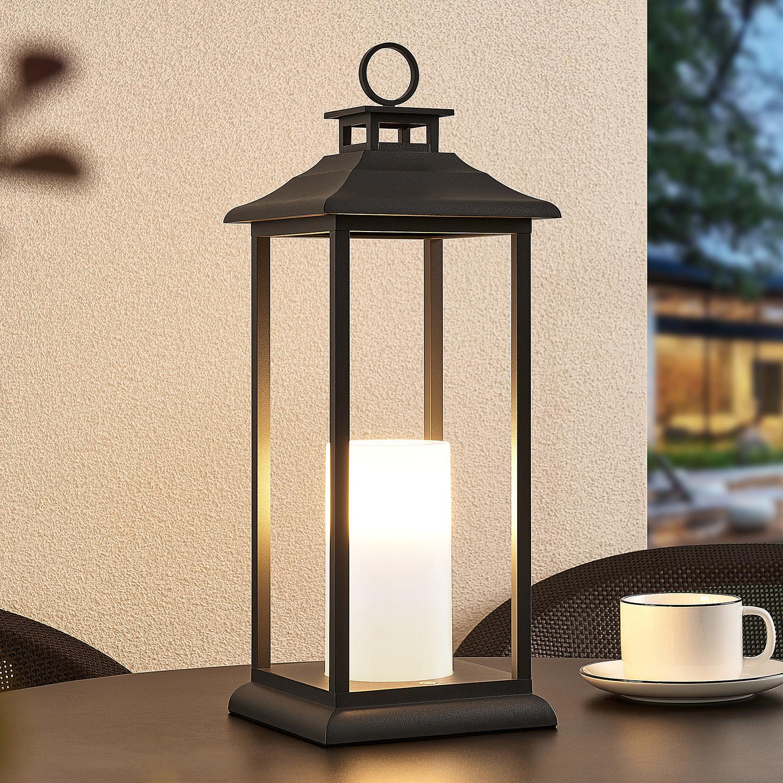 Lucande Vadik lanterna LED da esterni