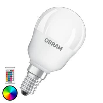 OSRAM-LED-lamppu E14 4,5W Star+pisara Remote matta