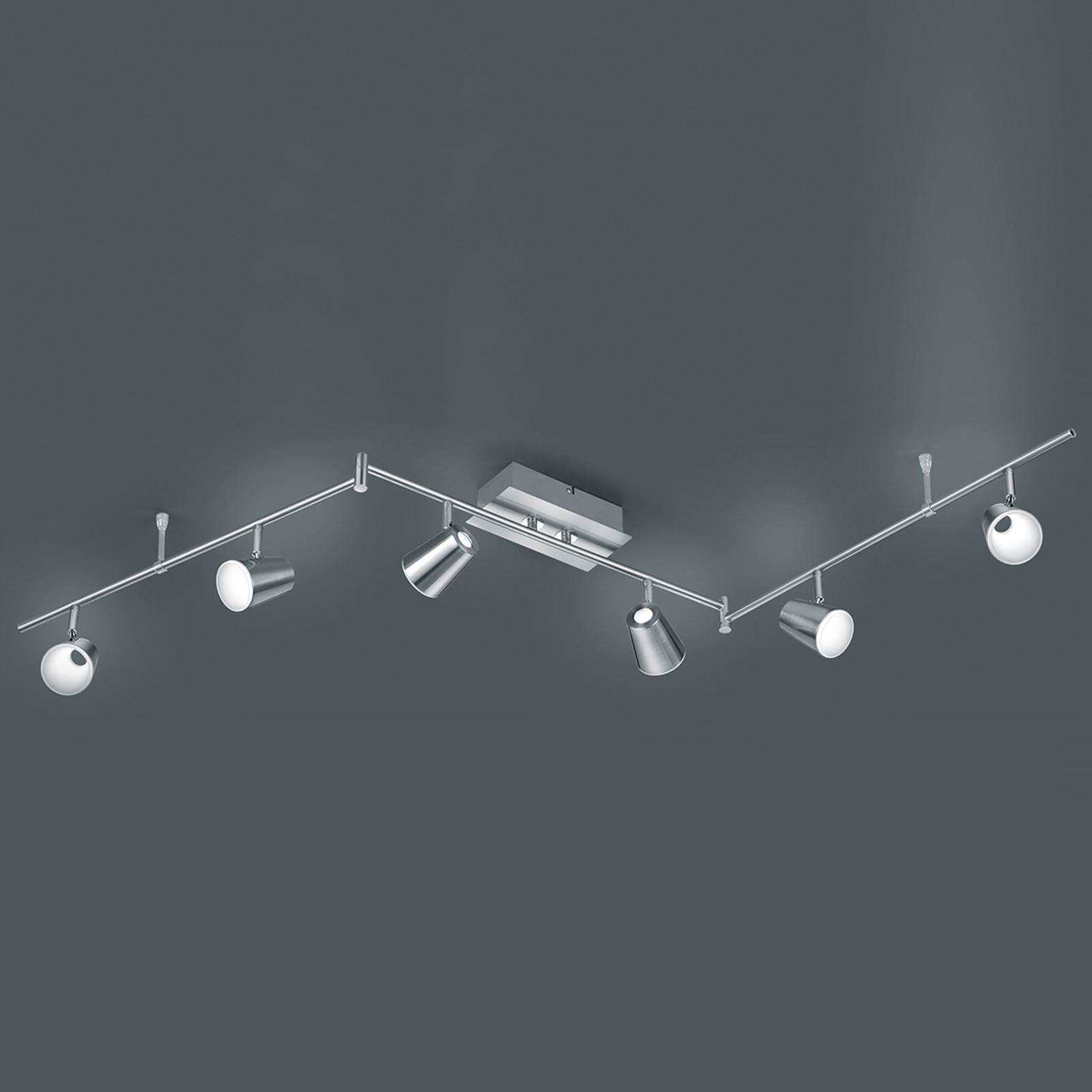 Gewinkelte LED-Deckenleuchte Narcos