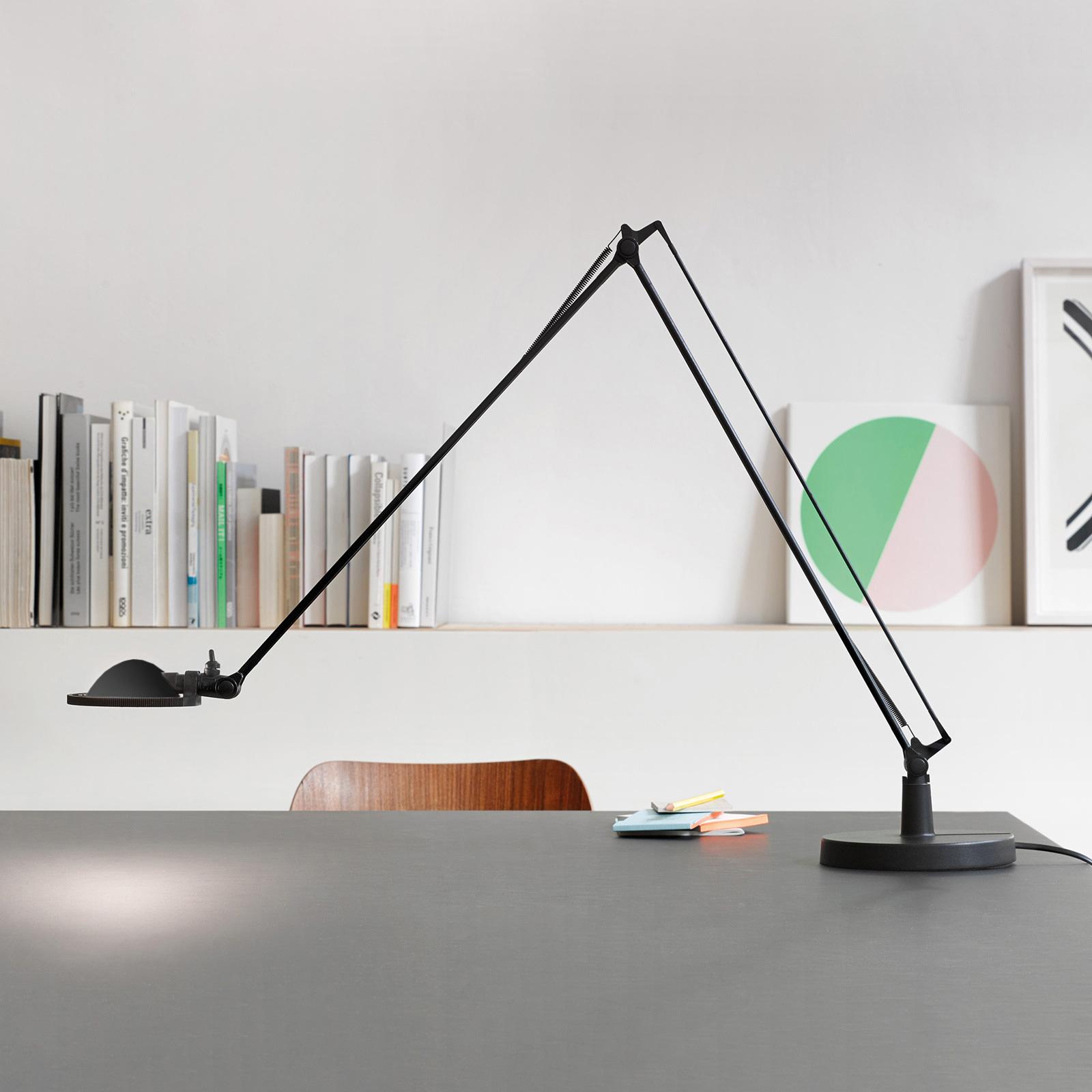 Luceplan Berenice 15cm, schwarz, Metallreflektor