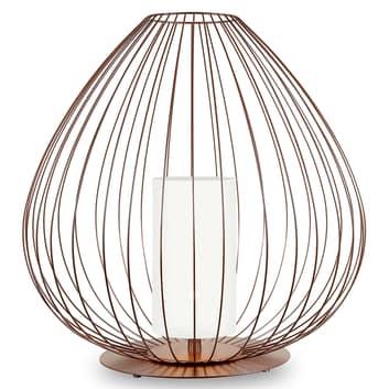Karman Cell - bur-bordlampe, 62 cm, bronse