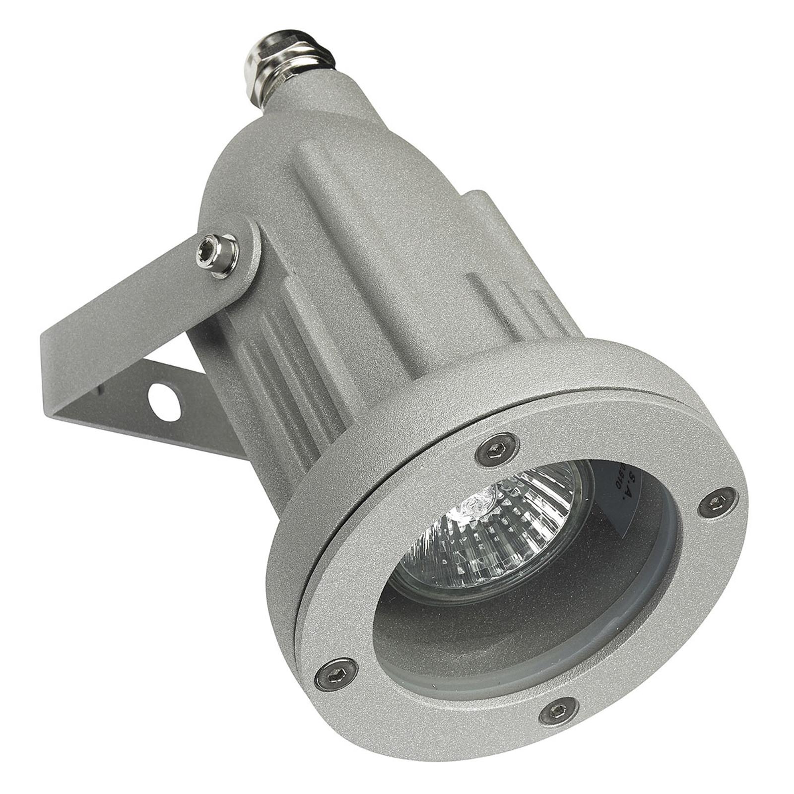 Proiettore orientabile da esterni Helio, grigio