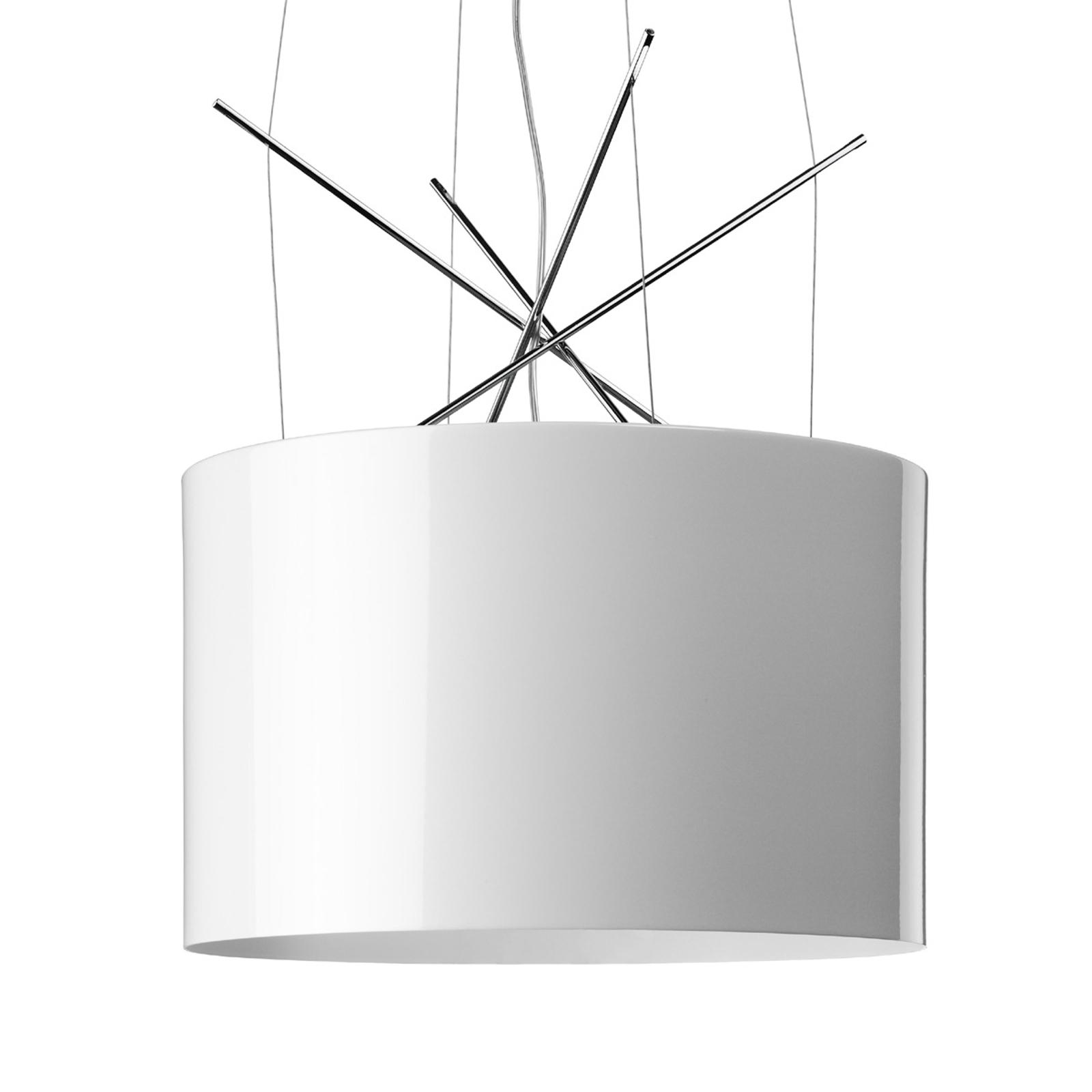 FLOS Ray S -riippuvalaisin, valkoinen