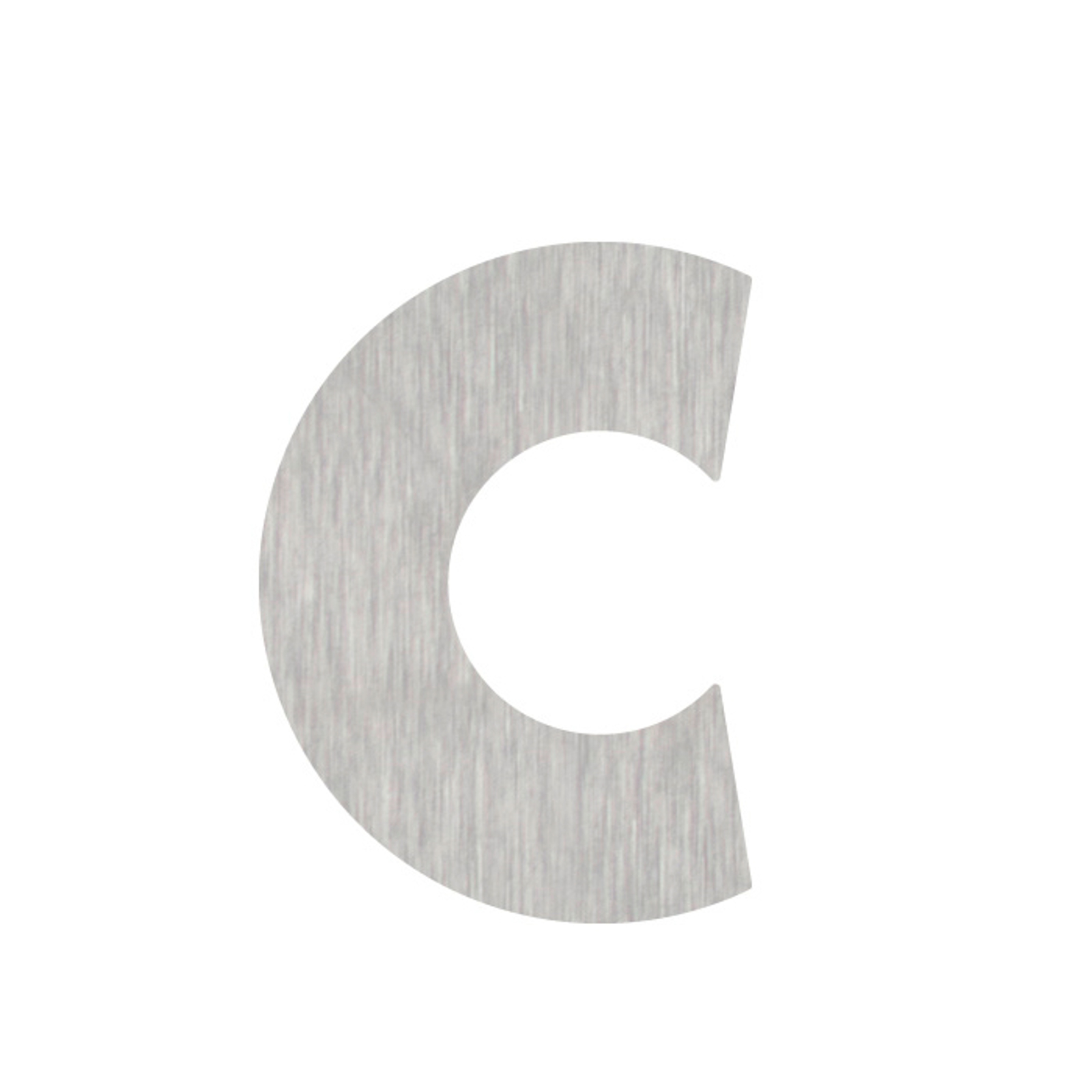Números de casa letra c