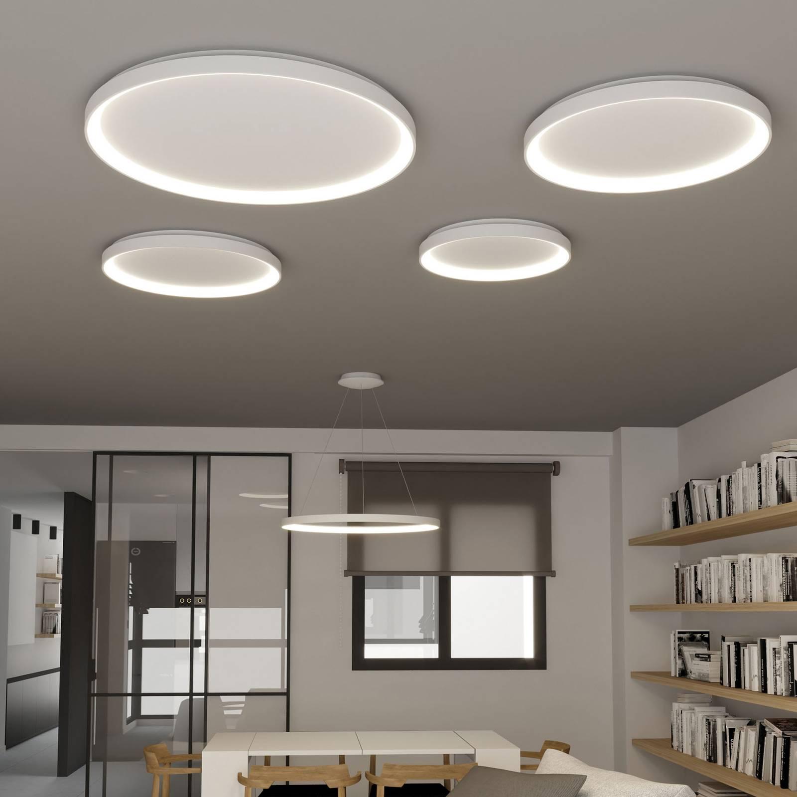 LED plafondlamp Grace, DALI, Ø 58 cm, Casambi