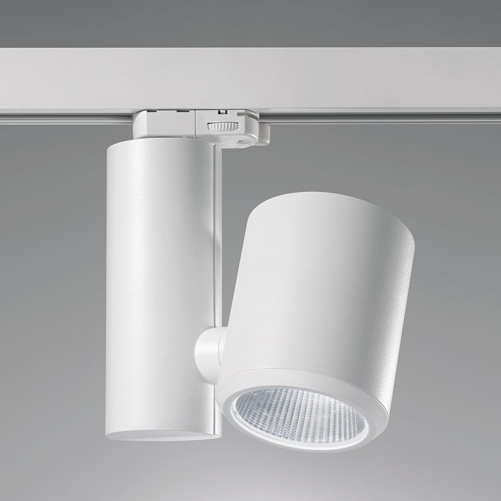 Efficiënte LED rail-spot Kent 38° wit uw
