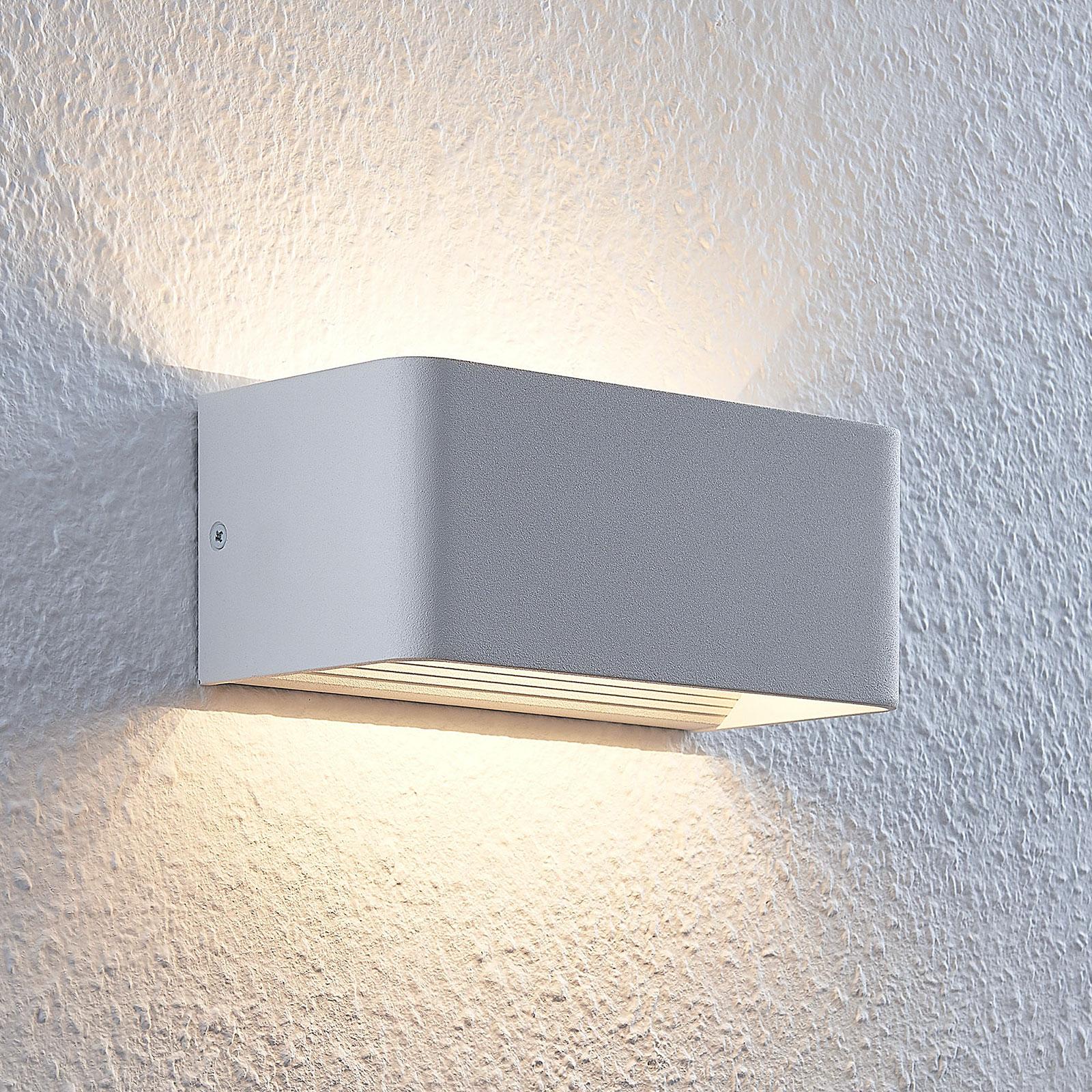 LED-Wandleuchte Lonisa, weiß, 20 cm