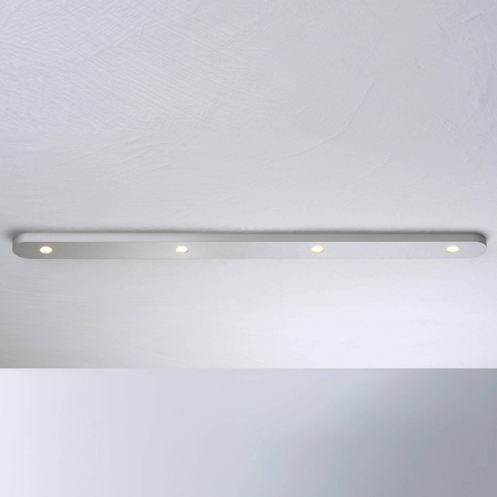 Bopp Close lampa sufitowa LED, 4-pkt. aluminium