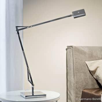 FLOS Kelvin Edge - LED-Schreibtischlampe anthrazit