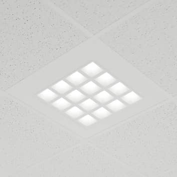 Innebygd LED-panel Merti i hvitt, 4000 K