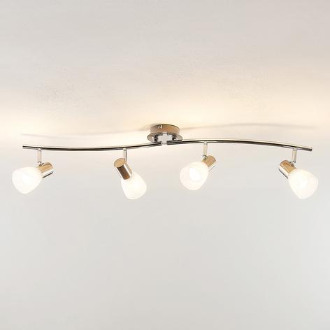 ELC Kamiran spot pour plafond LED à 4 lampes