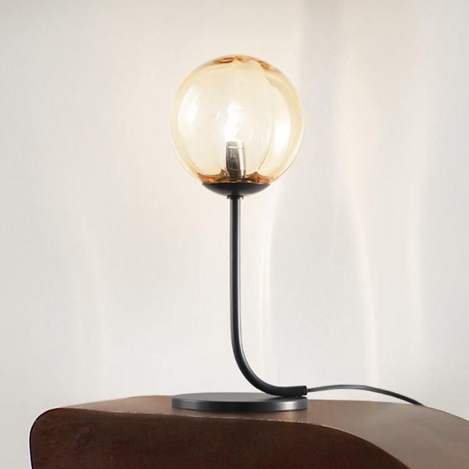 Designerska lampa stołowa Puppet ze szkła murano
