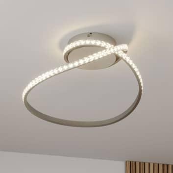 Lindby Criostal LED-taklampe med RGB-endring