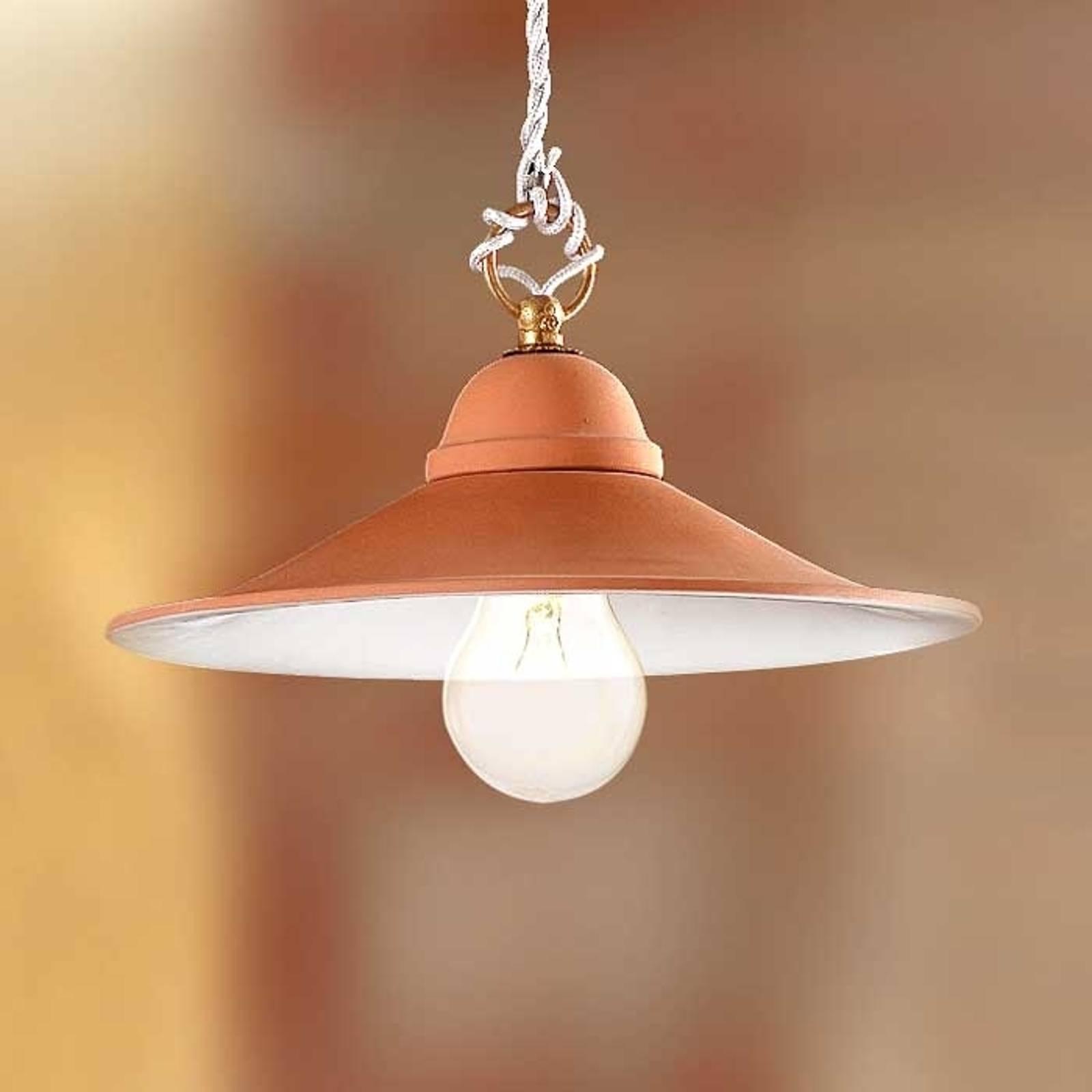 Hanglamp GIULIA met keramieken kap, 43 cm
