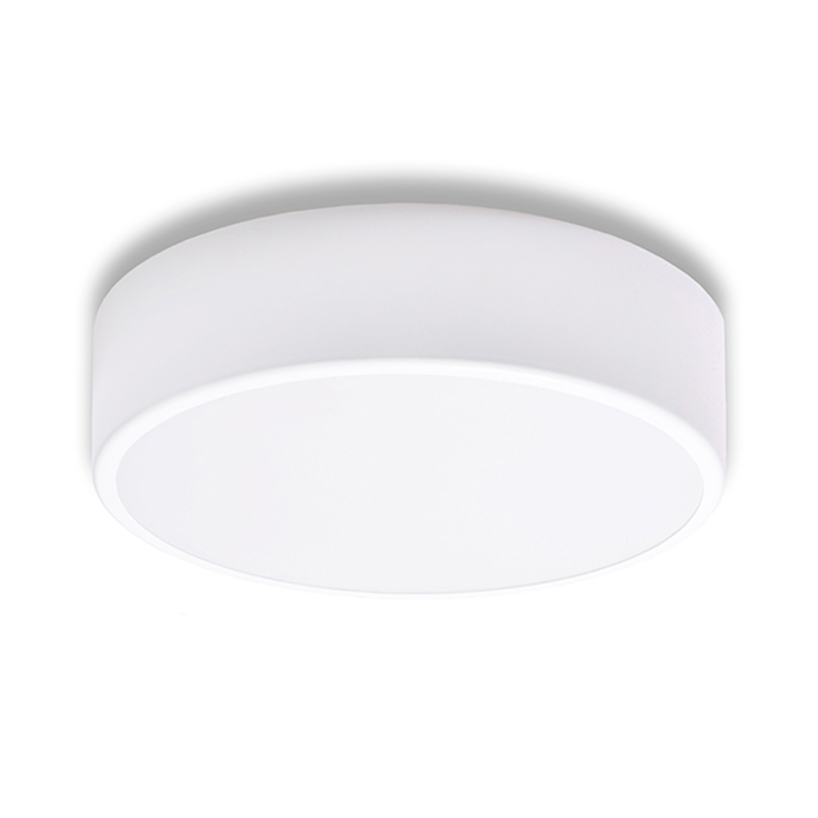 Taklampe Cleo, Ø 30 cm, hvit