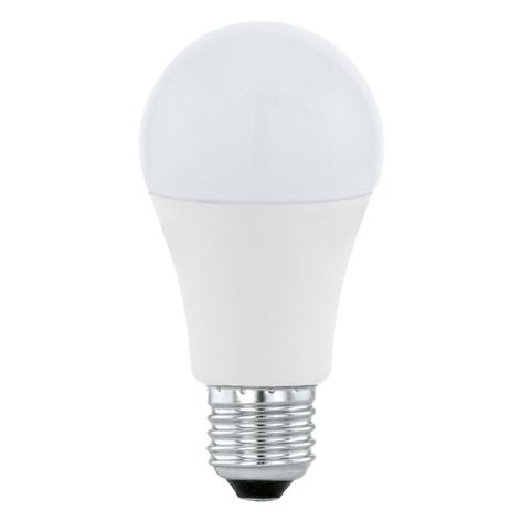 LED lamp E27 A60 12W, warmwit, opaal