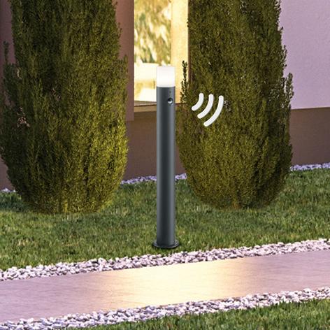 Chodníkové svietidlo Hoosic antracit detektor